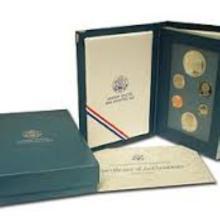 1987 Prestige Proof Set US Mint