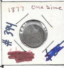 Dime 1877 One Dime
