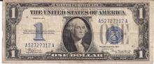 Lot of 4 1934 $1.00 Silver Certificate FR1606