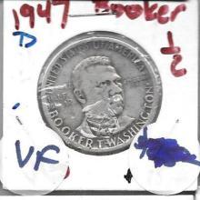 Commemorative 1947 D Booker T Washington Half Dollar