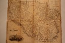 Lot of 3 early 19th maps, Maine, Boston and United States