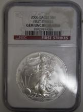NGC 2006 Eagle Gem Uncirculated