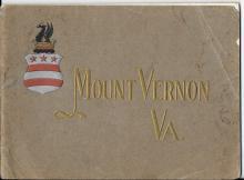 George Washington's Mount Vernon brochure, 1912