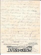 Early Automobile Motor-Print letterhead, short-lived publication