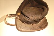 [Military] 19th Century Kepi of Teddy Roosevelt's Guide, Museum Deaccession
