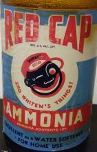 [Ethnic] Red Cap Ammonia Bottle