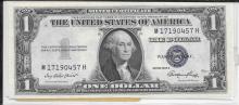2 Consecutive 1935 E Silver Certificates