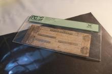 Obsolete 1806 Penobscot Bank Buckstown, MA $5.00 Note PCGS VF-20
