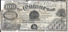 Centaur Bank, New York scrip for the liniment oil