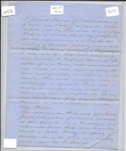 [War of 1812] Pension Letter