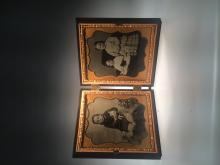 [Photography] Double Ambrotype of Children and Doll
