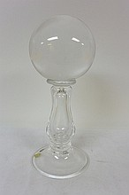 Clear crystal ball with stand