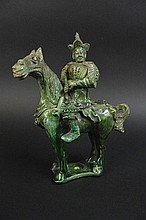 Chinese Yuan Period --Green Porcelain Barbari