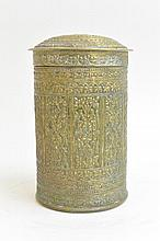 Carved bronze Afghan Jar