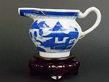 Chinese Qing Period Blue and White TeaPot