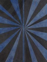 MARK GROTJAHN - Untitled (Black and Blue Butterfly # 570), 2005