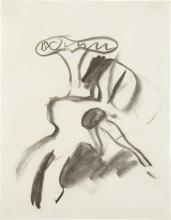 WILLEM DE KOONING - Untitled (Woman), 1969-70