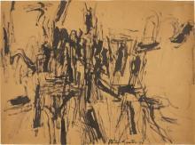 PHILIP GUSTON - Untitled, 1954