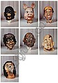 Masks (Small) from the Propo series, 1994