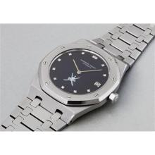 AUDEMARS PIGUET - An extremely rare and highly attractive stainless steel wristwatch with date and bracelet, made for the Sultanate of Oman, 1973