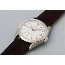 ROLEX - An extremely rare and well preserved white gold wristwatch with