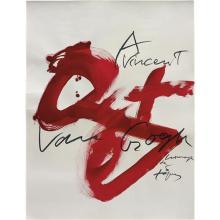 ANTONI TÀPIES - A Vincent van Gogh, 1989-1990