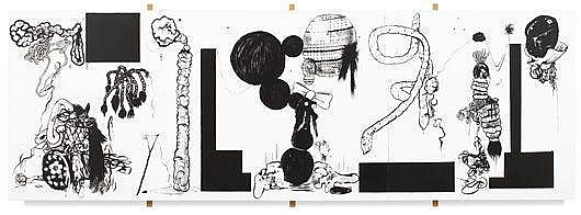 MIKE KELLEY Textural Index (Landscape Contra