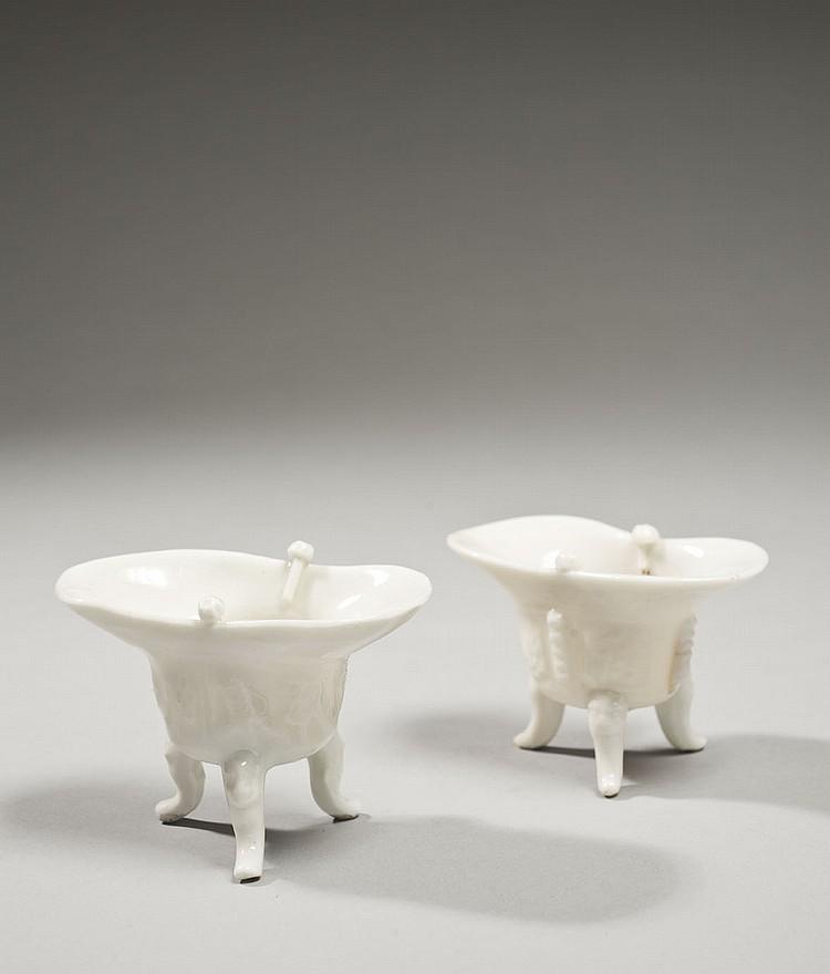 Céramique de la Chine Époque KANGXI (1662-1722) Deux petits modèles de