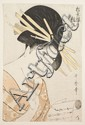 Estampes japonaises Kitagawa Utamaro (1753-1806) Oban tate-e de la série