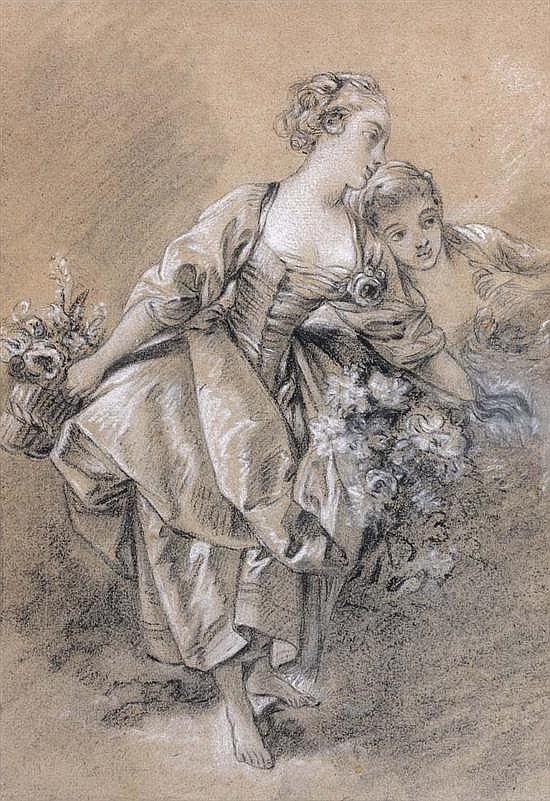 Spencer Alley Drawings by François Boucher 17031770