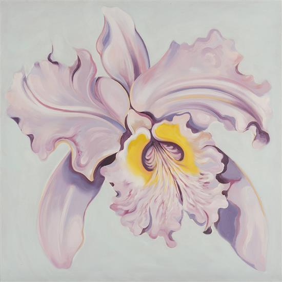 Lowell Nesbitt (1933-1993)Lavender Orchid, 1991