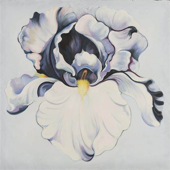 Lowell Nesbitt (1933-1993)Violet and White Iris, 1991