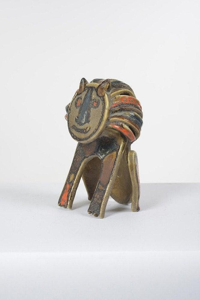 Bruno Gambone (né en 1936) Sculpture Céramique Pièce unique Date de création : entre 1969 et 1979 H 23 x L 17 x P 15 cm ...