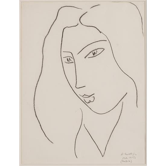 *Henri Matisse (1869-1954)Nadia, 1950
