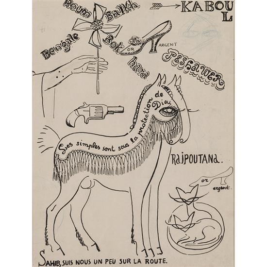 Kees Van Dongen (1877-1968)Sans titre (illustration pour les plus beaux contes de