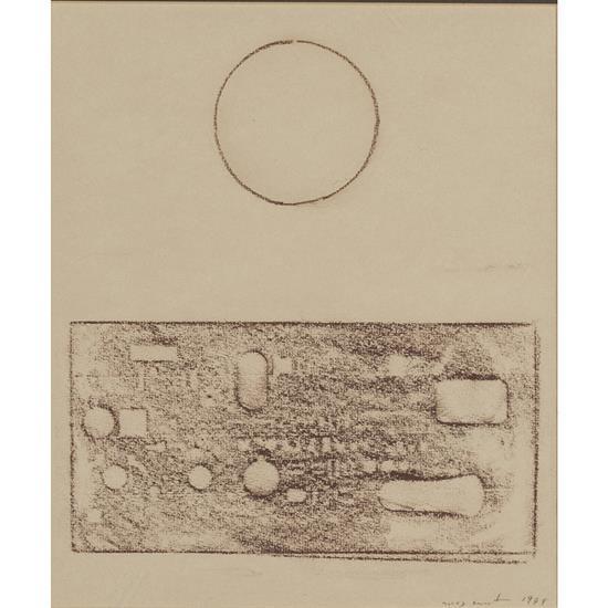 Max Ernst (1891-1976)Petit frottage IV,1974