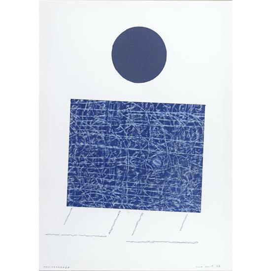 Max Ernst (1891-1976)Méditerranée, 1966