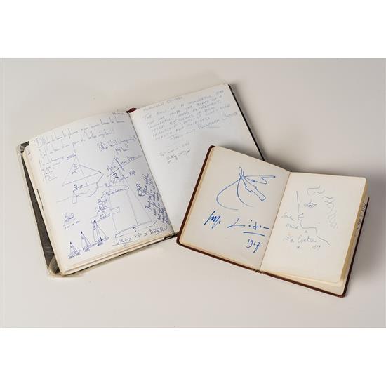 Jean Cocteau ( 1889-1963) ,Pablo Picasso (1881-1973) et divers