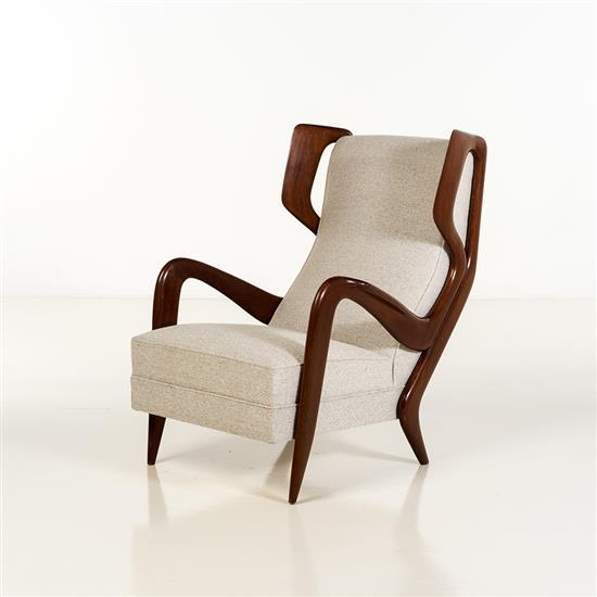 Gio Ponti (1891-1979)Fauteuil