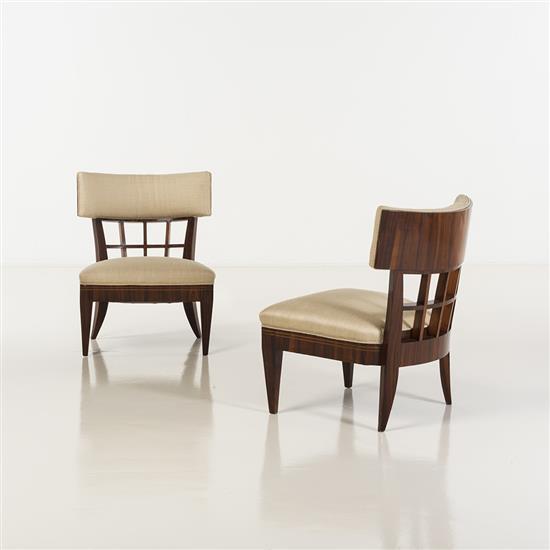 Paolo Buffa (1903-1970)Paire de fauteuils