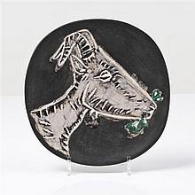 Pablo Picasso (1881-1973), d'après & MadouraTête de chèvre de profil