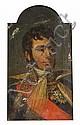 École française du XIXe siècle Portrait présumé du Maréchal Marmont en grand uniforme portant le grand aigle et la plaque de la Légion