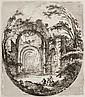 SAINT-NON Jean-Claude Richard de. Recueil de griffonis, de vues, paysages, fragments antiques et sujets historiques gravés tant à l'ea