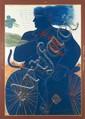 Alecos FASSIANOS Cycliste à la cravate, c. 1985