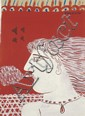 Alecos FASSIANOS The Smoker, c. 1970