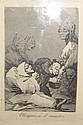 Francisco de Goya y Lucientes (1746-1828) Obsequio á el maestro ; Duendecitos