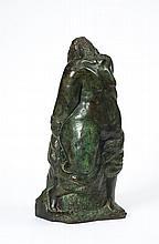 Henri GAUDIER-BRZESKA (1891-1915) Figure féminine en pied, 1913
