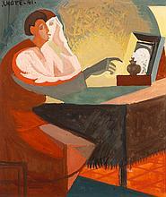 André LHOTE (1885-1962) Hommage à Georges de la Tour