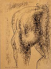 André MASSON (1896-1987) Nu, 1950