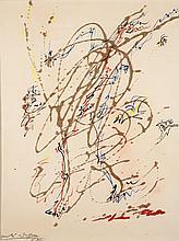 André MASSON (1896-1987) L'oiseleur